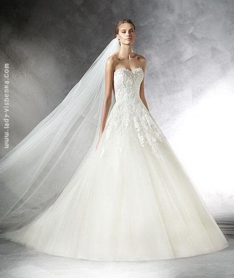 Пышные свадебные платья 2016 Pronovias