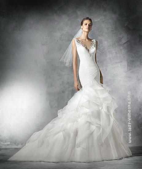 Свадебное платье фасона - рыбка Pronovias