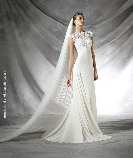 Легкое свадебное платье Pronovias