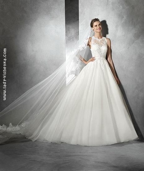 Шикарные свадебные платья фото Pronovias