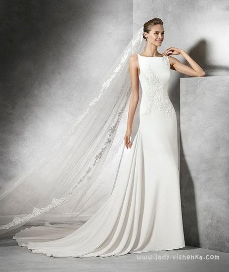 Красивые свадебные платья фото Pronovias