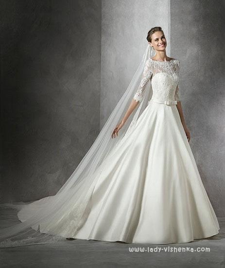 Сайт свадебных платьев Pronovias