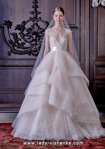 Пышные свадебные платья 2016 - Monique Lhuillier