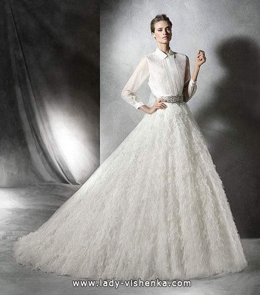 Пышные свадебные платья фото - Pronovias