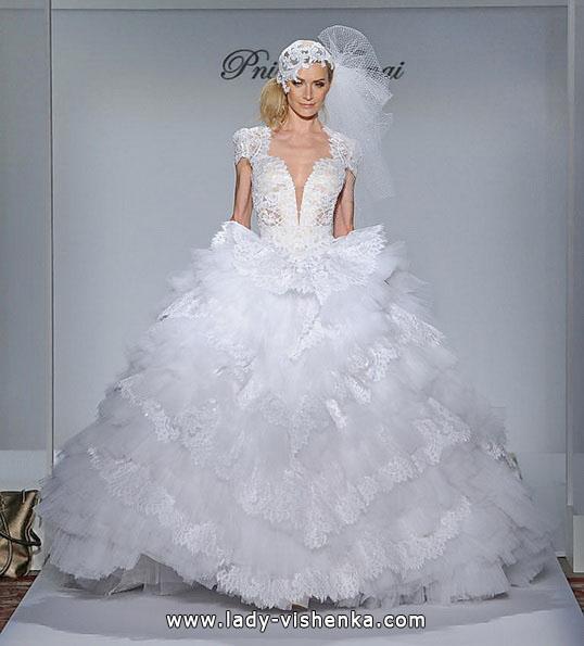 Красивые пышные свадебные платья 2016 - Pnina Tornai
