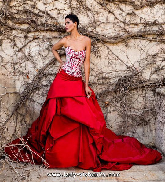 Красивые пышные свадебные платья 2016 - Jordi-Dalmau