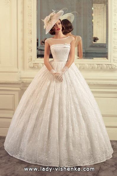 Пышное кружевное свадебное платье 2016 - Tatiana Kaplun