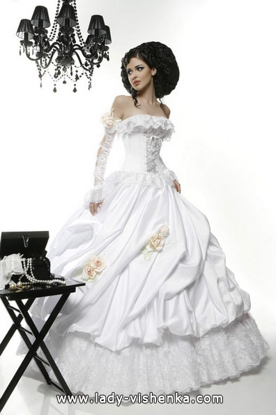 Пышные свадебные платья с рукавами 2016 - Tatiana Kaplun