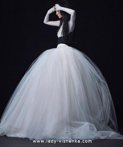 Пышные свадебные платья с рукавами фото - Vera Wang