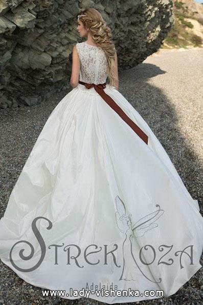 Пышные свадебные платья фото - Strekoza