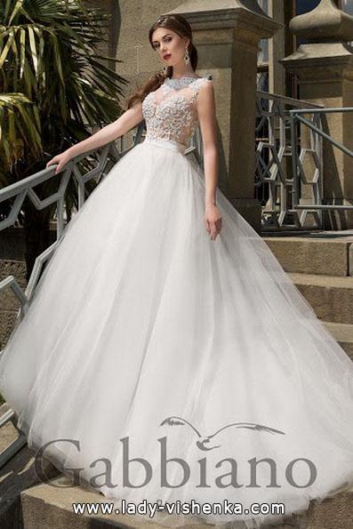 Красивые пышные свадебные платья 2016 - Gabbiano