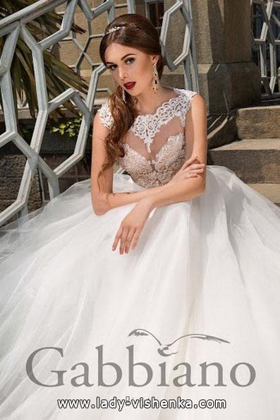Длинное пышное свадебное платье 2016 - Gabbiano