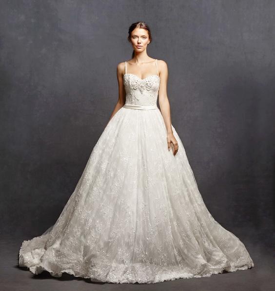 Пышные свадебные платья фото - Isabelle Armstrong