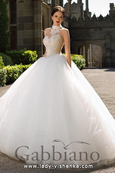 Пышные свадебные платья 2016 - Gabbiano