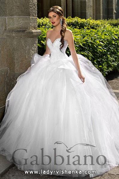 Пышные свадебные платья фото - Gabbiano