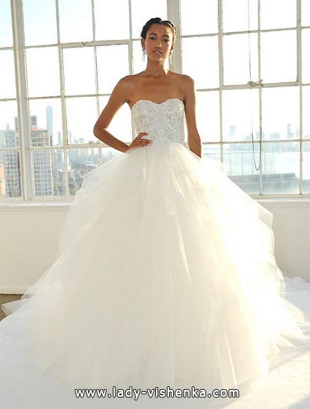 Пышные свадебные платья 2016 - Marchesa