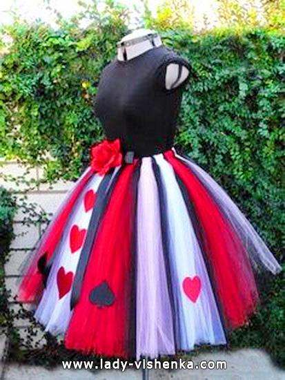Секси костюм Королевы Червей на Хэллоуин