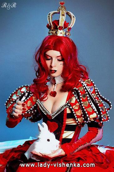 Костюм Королевы Червей с короной