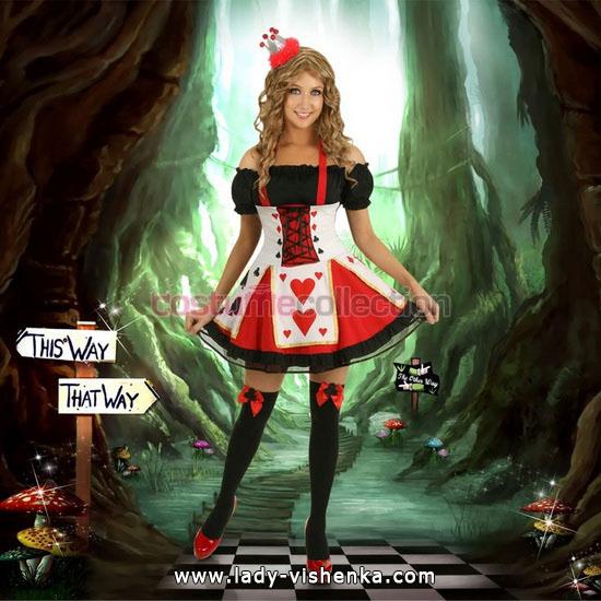 Оригинальный костюм Королевы Сердец