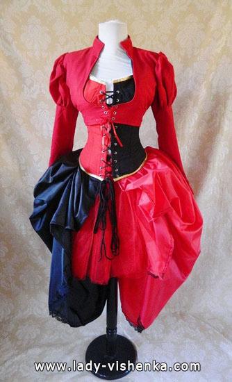 Красивое платье Королевы Червей