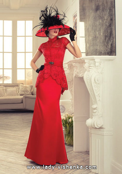 Красное свадебное платье 2016 - Tatiana Kaplun