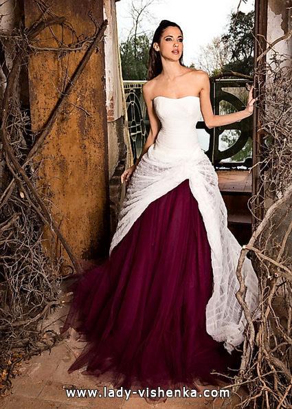 Красные свадебные платья фото - Jordi Dalmau