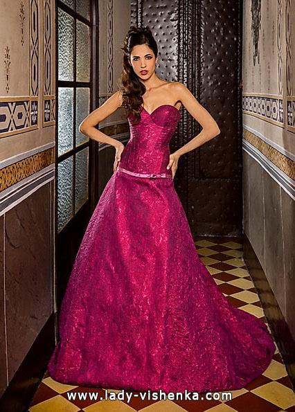 Свадебные платья красного цвета фото - Jordi Dalmau