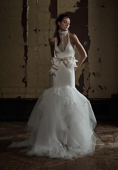Атласное свадебное платье - русалочка - Vera Wang