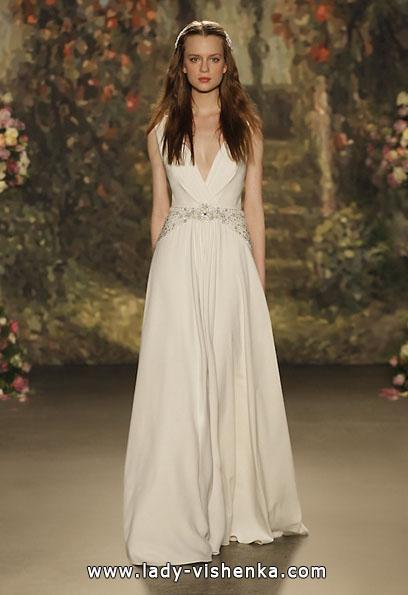 Атласные свадебные платья 2016 - Jenny Packham