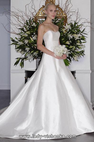 Атласные свадебные платья 2016 - Romona Keveza
