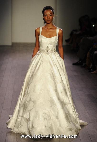 Атласные свадебные платья 2016 - Alvina Valenta