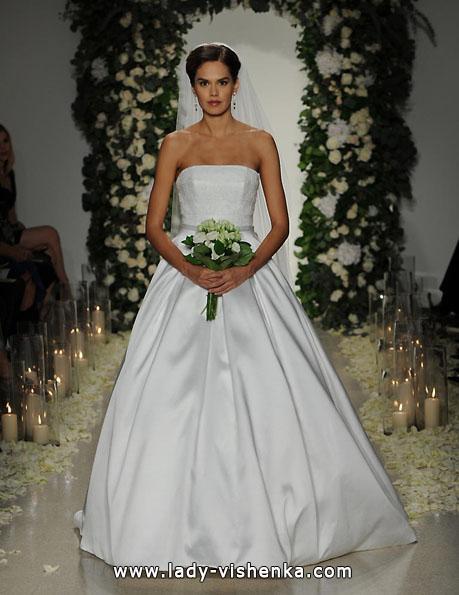Свадебное платье из атласа 2016 - Anne Barge