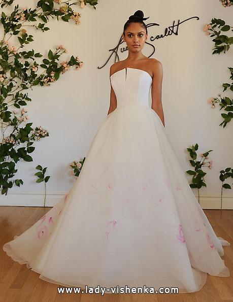 Атласные свадебные платья 2016 фото - Austin Scarlett
