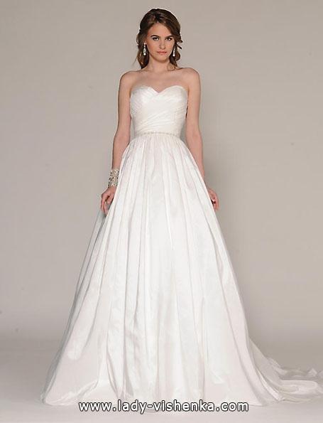 Атласные свадебные платья 2016 - Атласные свадебные платья 2016 - Eugenia Couture