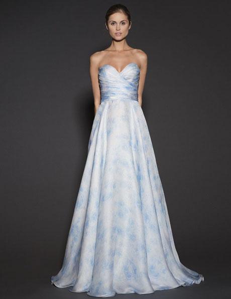 Атласные свадебные платья 2016 - Naeem Khan