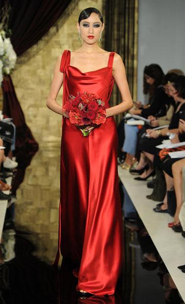 Атласные свадебные платья весна 2016 - Theia
