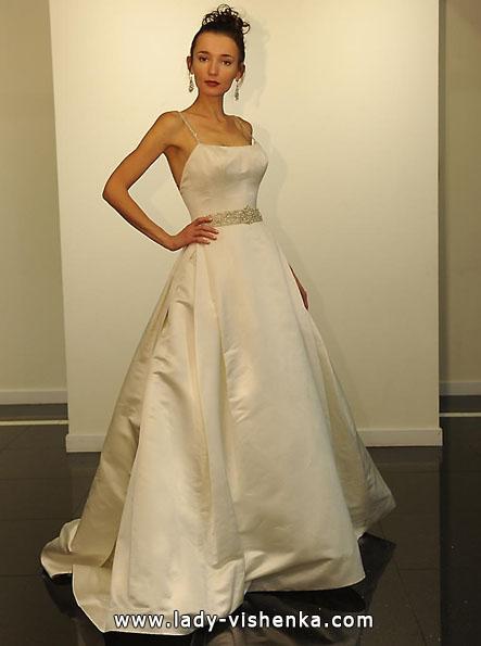 Атласные свадебные платья 2016 - Victor Harper