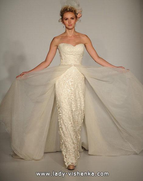 Прямое свадебное платье со шлейфом 2016 - Sottero and Midgley