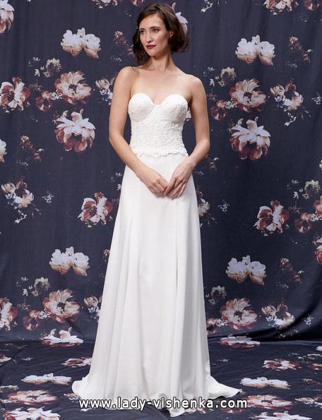 Свадебные платья прямого покроя 2016