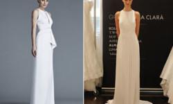 Прямые свадебные платья 2016