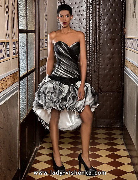 Короткое пышное свадебное платье 2016 - Jordi Dalmau