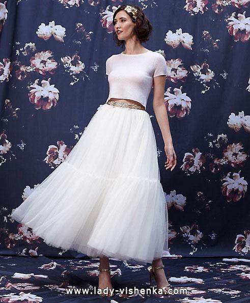 Короткие пышные свадебные платья 2016 - Ivy & Aster