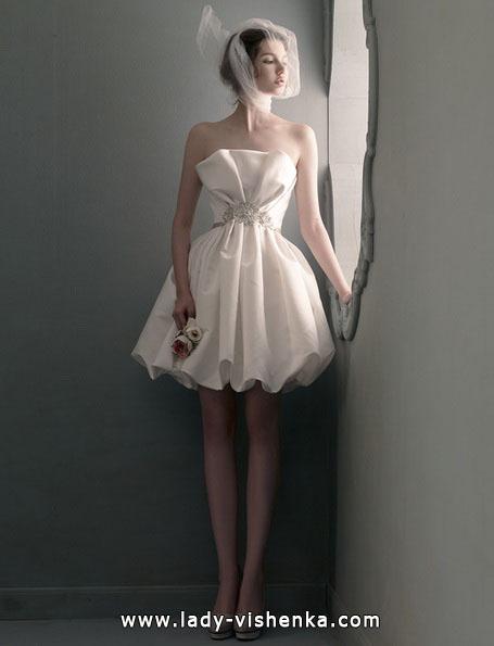 Короткие пышные свадебные платья 2016 - St. Pucchi