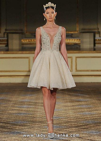 Короткие пышные свадебные платья 2016 - Berta