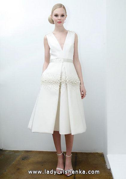 Короткие свадебные платья 2016 - Pamella Roland
