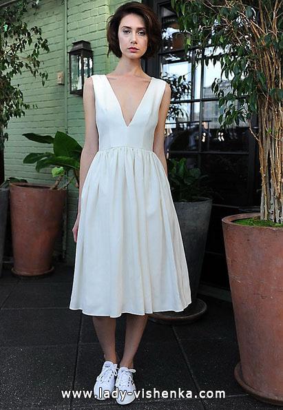 Короткие свадебные платья 2016 - Sarah Seven