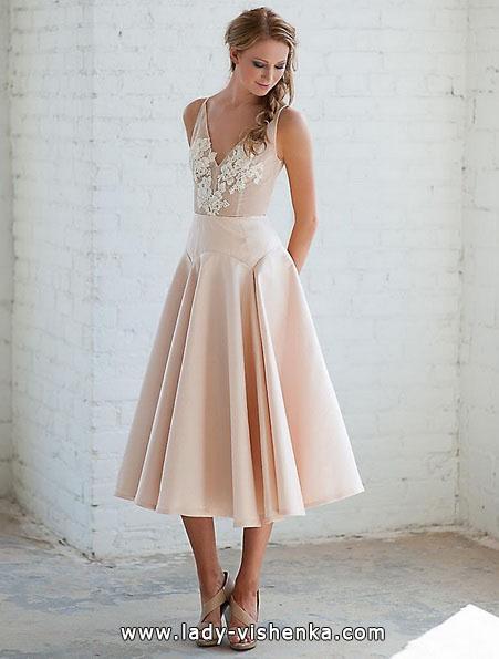 Короткие свадебные платья 2016 - Tara LaTour