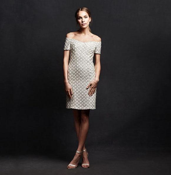 Короткие свадебные платья с рукавами 2016 - Isabelle Armstrong
