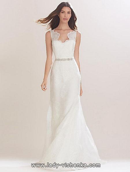 Простое свадебное платье фото - Carolina Herrera