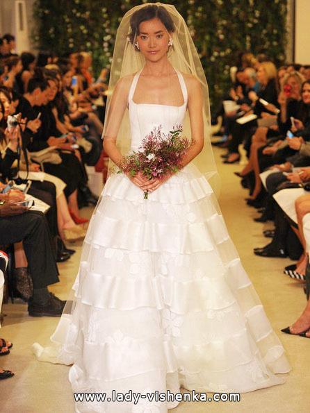 Самое простое свадебное платье - Carolina Herrera
